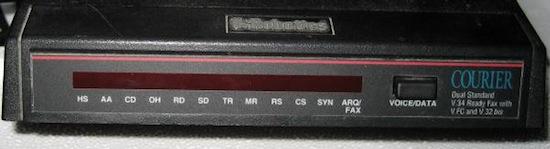 USR Courier modem